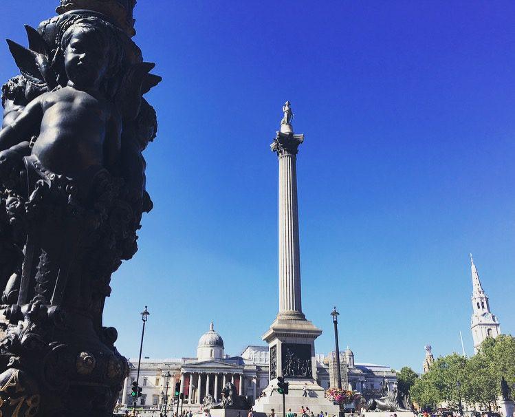 Trafalgar Square- Nelson Column