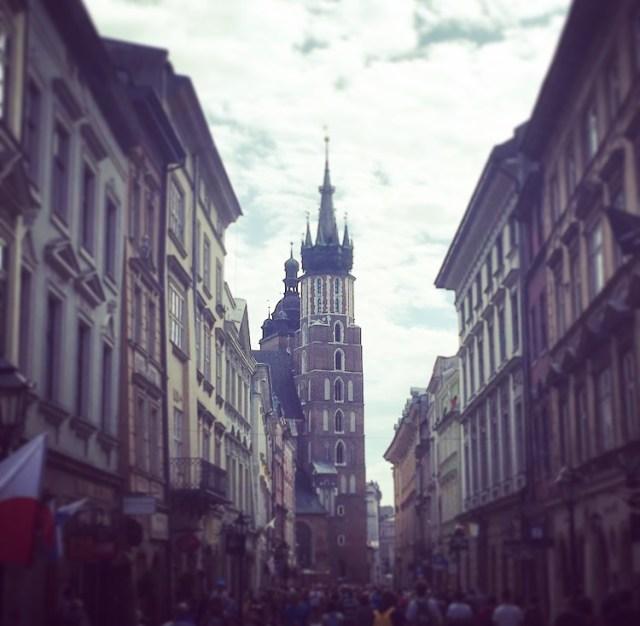 St Mary's Church from Florianska Street