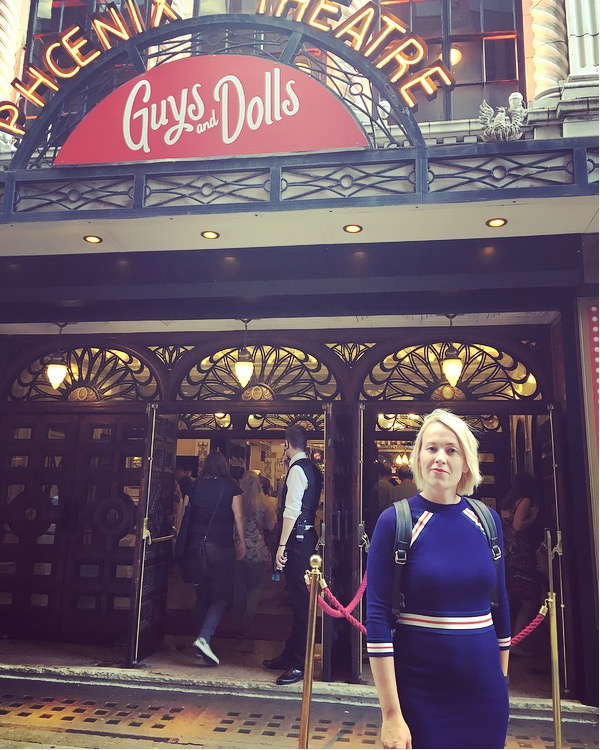 Guys and Dolls - in front of Phoenix Theatre