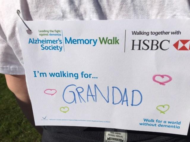 Memory Walk Card 2