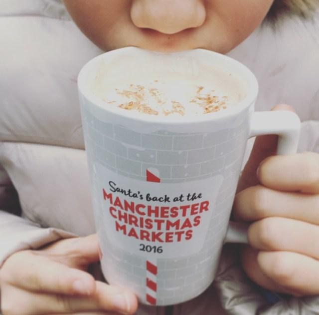 Hot chocolate Manchester markets