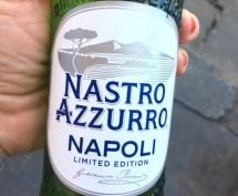 Naples - Nastro Azzurro - beer