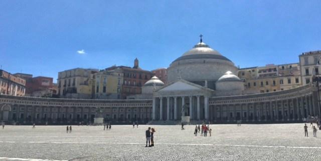 Naples -Piazza Plebiscito