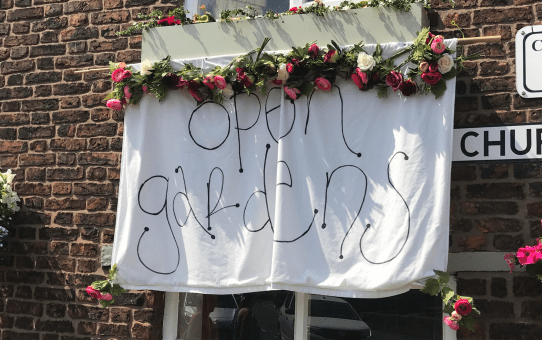 open gardens 2018 close up