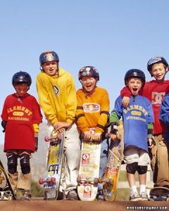 young-skateboarders
