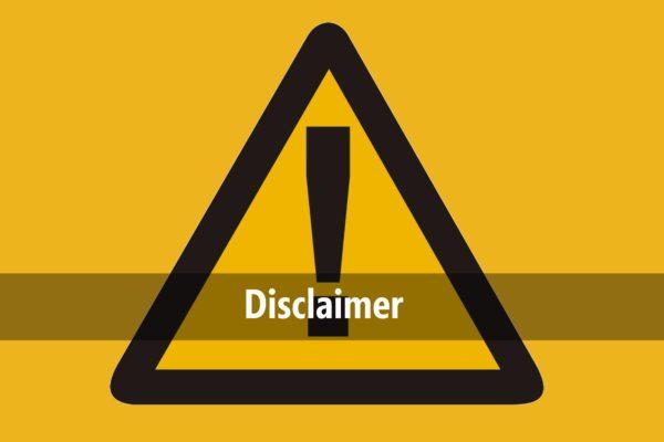 disclaimer - GospelEmpireGh