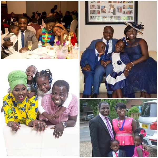 Diana Antwi Hamilton and family