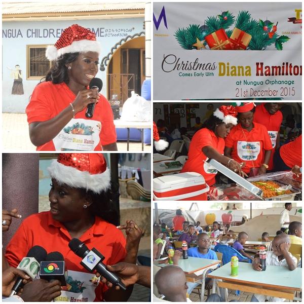 Diana Antwi Hamilton at Nungua Orphanage