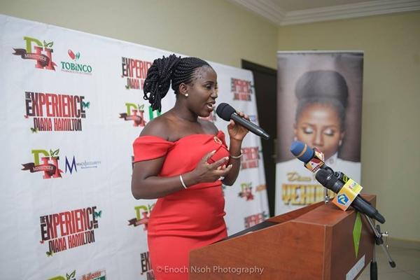 Diana Antwi Hamilton at Yehowa Album launch