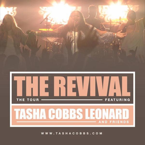 Tasha Cobbs Leonard To Launch The Revival Tour