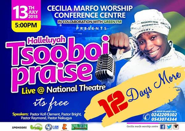 Cecilia Marfo Top 3 Renowned Gospel Musicians that Own a Church