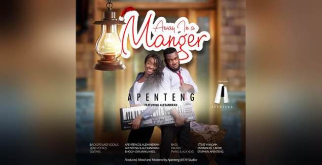 Stephen Apenteng ft Alexandrah - Away in the Manger (Music Download)
