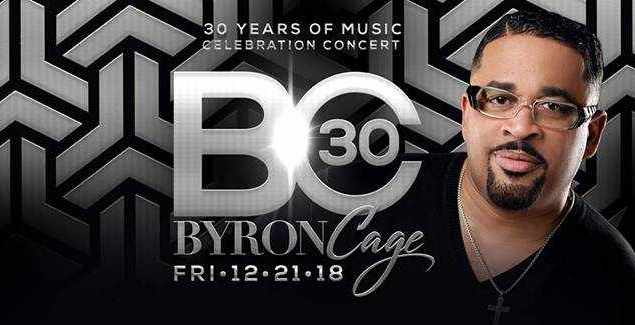US Gospel Singer Byron Cage Celebrates 30 years in Music Ministry 2
