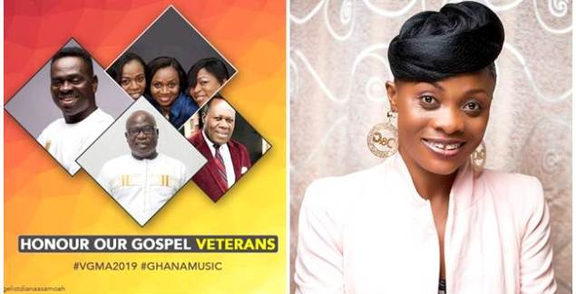 Honour our Gospel Veterans - Evangelist Diana Asamoah to VGMA