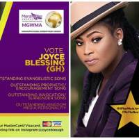 Joyce Blessing Grabs 4 Nominations at 2019 MGWMA in Kenya