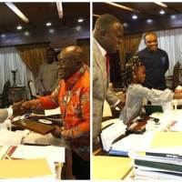 President Akufo-Addo Congratulates Cwesi Oteng on Anthems Album