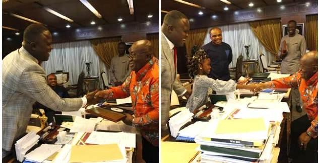 President Akufo-Addo Congratulates Cwesi Oteng on Anthems Album