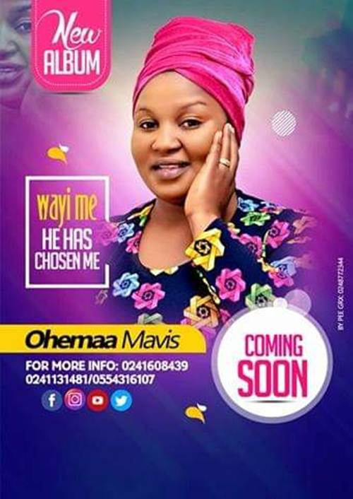 Ohemaa Mavis to Release Second Album, 'Wayi Me' (He has Chosen Me)