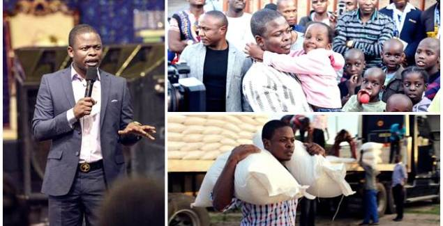 South Africans take to Social Media to hail Prophet Bushiri's Giving Spirit