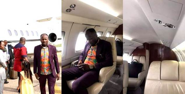Apostle Johnson Suleman Acquires Private Jet + Photos