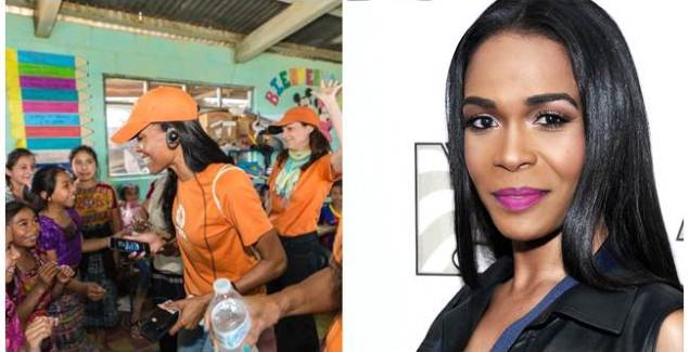 Michelle Williams Lends Support to Women in Guatemala
