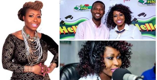 Gospel Diva Louisa Annan Visits Atwea Mountain & Kumasi Radio Stations