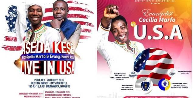 Worship Bulldozer Cecilia Marfo All Set for Her Aseda Kese USA Tour