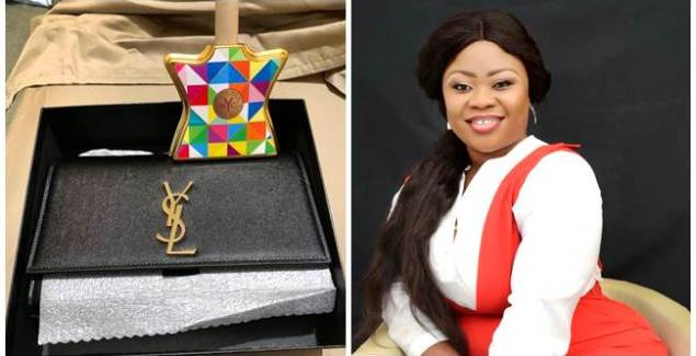 Ciara Antwi (Obofowaa) Gifts GHC10,000 Worth Handbag to Artiste Manager