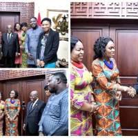Daughters of Glorious Jesus Meets the President of Ghana