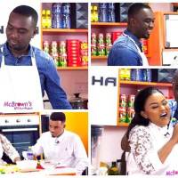 Joe Mettle Showcases Cooking Skills at McBrown's Kitchen