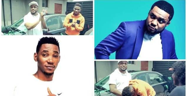 Gospel Artiste Tim Godfrey Gifts New Car to Okey Sokay