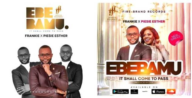 Minister Frankie ft Piesie Esther - Ebebamu (Lyrics Video)