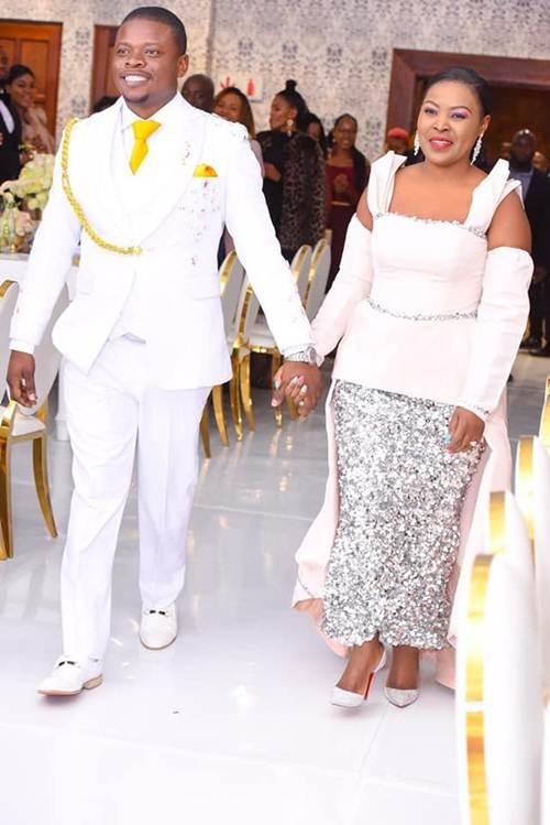 Prophet Shepherd Bushiri & Wife Celebrate 8th Wedding Anniversary