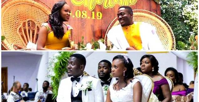 Bishop Agyinasare's Daughter Charlene Ties the Knot with Elvis + Photos