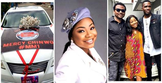 Gospel singer, Mercy Chinwo Gets a Car Gift on her Birthday