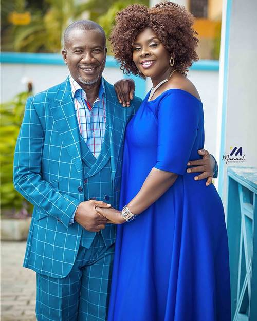 Amy Amber Newman Shows Off her Hubby, Rev Kwesi Newman