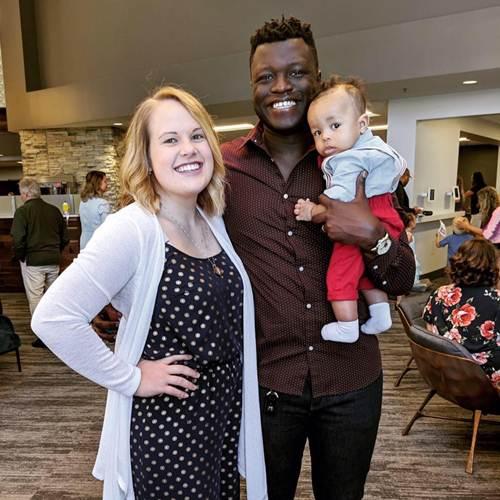 Meet the Beautiful Wife and Kids of Yoofi Otabil, Dr. Mensa Otabil's Only Son