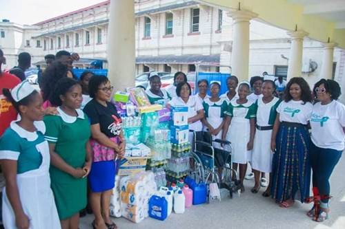 Organizers of 'Women in Worship 19' Donate to Cancer Unit at KBTH