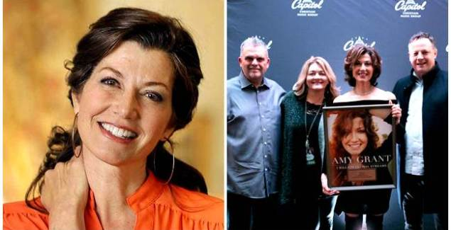 Amy Grant Gets Award For 1 Billion Global Song Streams