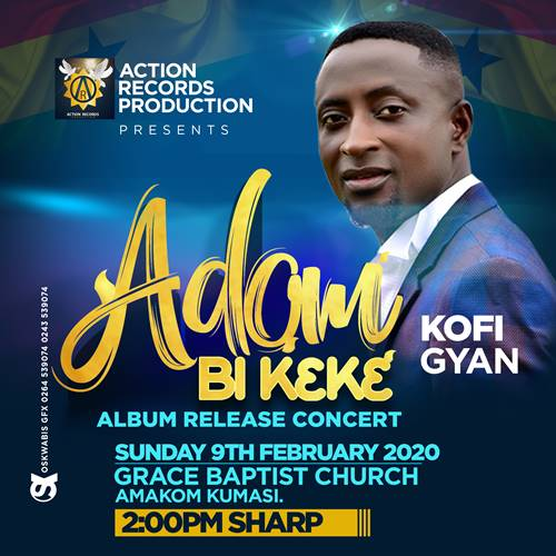 "MJ ; Top List Gospel Artists To Perform At MJ ""Adom Bi K3k3"" Album Release Concert"