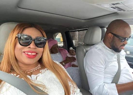 Gospel Musician, Sinach & Husband Dedicate Daughter In Church