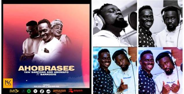 Yaw Sarpong And The Asomafo ft Sarkodie – Ahobrase3 (Official Audio)