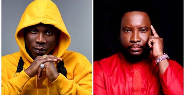 Sonnie Badu Welcomes Stonebwoy into Posh House [Photo]