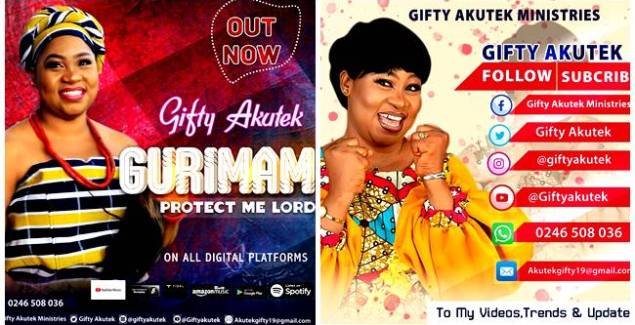 Gifty Akutek - Gurimam (Protect Me Lord) (Official Music Video)