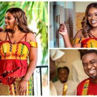 20 Breathtaking Photos from the Traditional Wedding of Joe Mettle and Salomey Selassie Dzisa