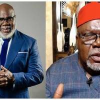 US Cleric TD Jakes Traces Roots to Nigeria, says his Ancestors were Igbos