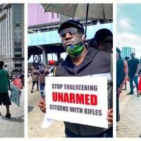 #EndSARS: Sammie Okposo, Onos, Tim Godfrey Join Protest