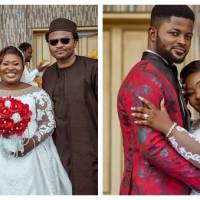 Judikay Marries Heartthrob Anselem Okpara, See Photos from White Wedding
