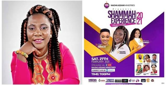Naomi Assani's 'Shammah Experience 2021' is Set for Saturday February 27th
