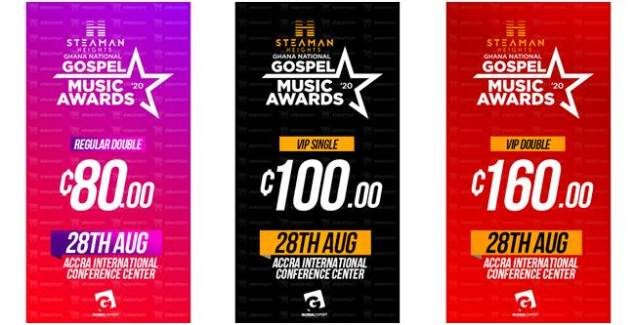 Tickets For Steaman Heights National Gospel Music Awards Out Now
